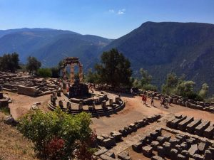 Reise zum Orakel von Delphi