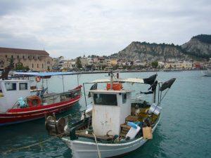 Zakynthos Reise Griechenland Hafen