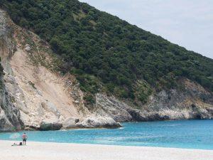 Am Strand von Kefalonia