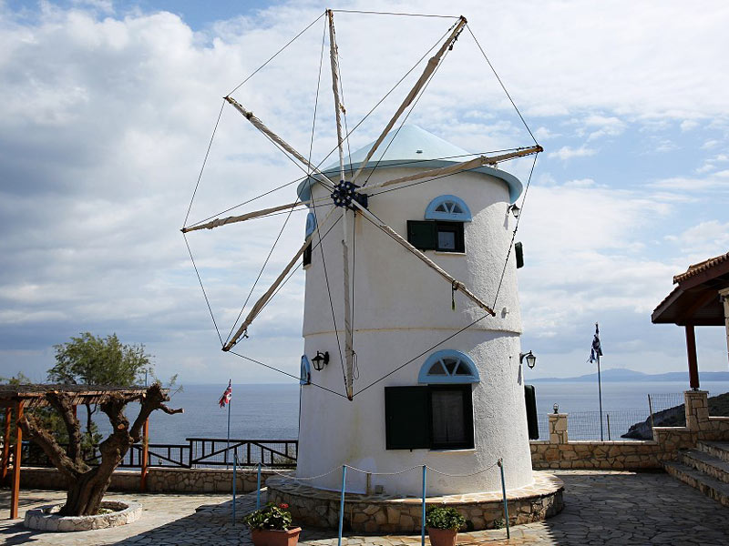 Windmühle Zakynthos Ionische Inseln Rundreise