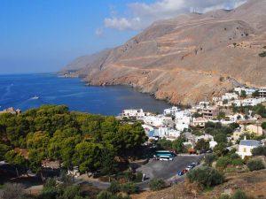 Imbros Schlucht Kreta Chora Sfakion