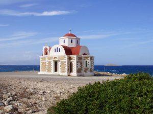 Mochlos Kirche auf Kreta