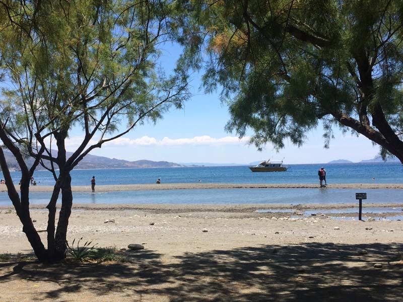 Strand Preveli Beach auf Kreta