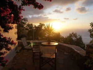 Amorgos Griechenland Rundreise Kykladen Sonnenuntergang