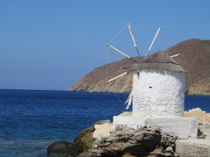 Olivenmühle in Amorgos