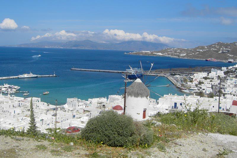 Warum nach Griechenland reisen? Kykladen Mykonos Stadt