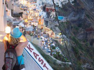 Kykladen Griechenland Santorini Reise Wanderung