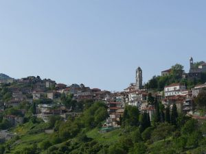 Berge und Klöster in Dimitsana
