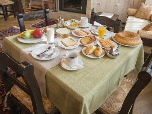 Griechenland Peloponnes Dimitsana Unterkunft Frühstück