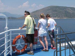 Mit dem Boot nach Hydra