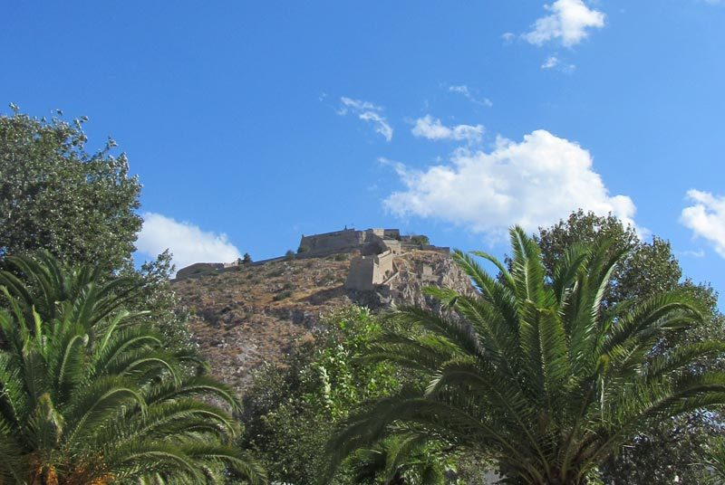 Warum nach Griechenland reisen? Nafplion Burgberg