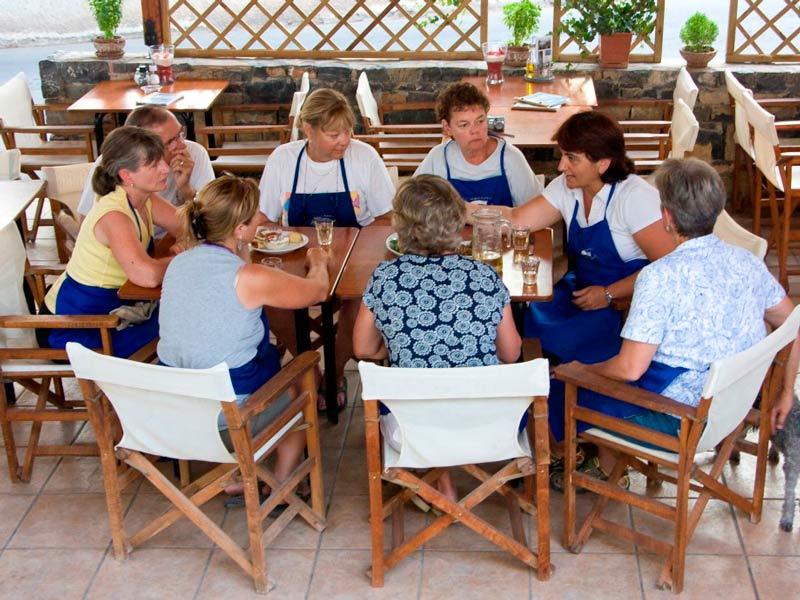 Poros Griechenland Kochkurs Kochen lernen
