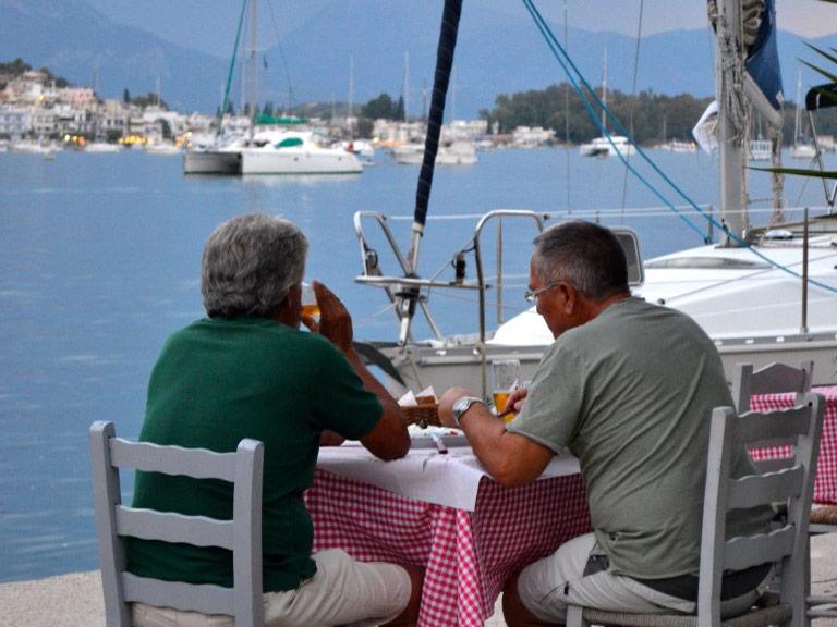 Poros Griechenland Peloponnes Urlaub