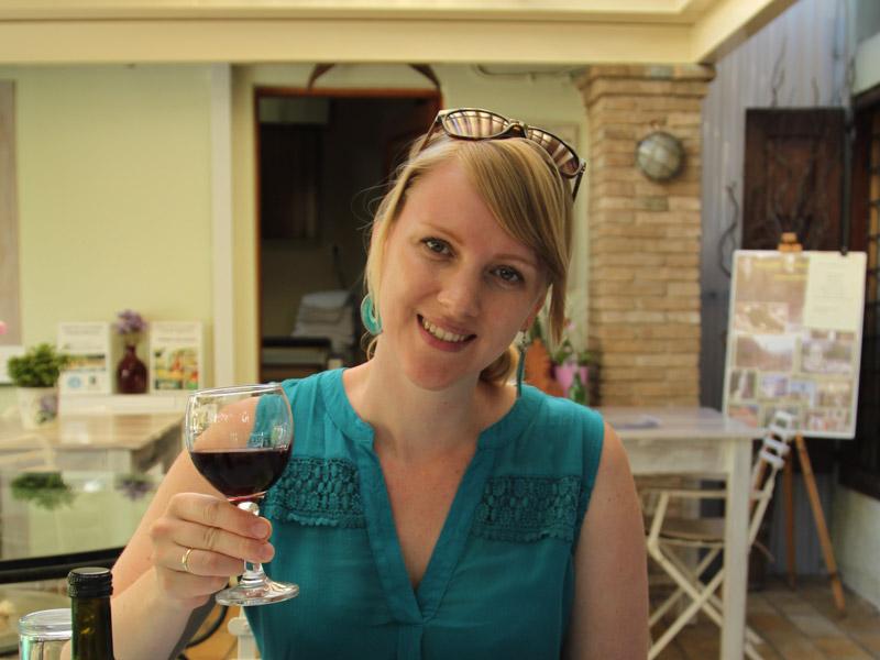 Zwei Wochen Griechenland - Weinprobe