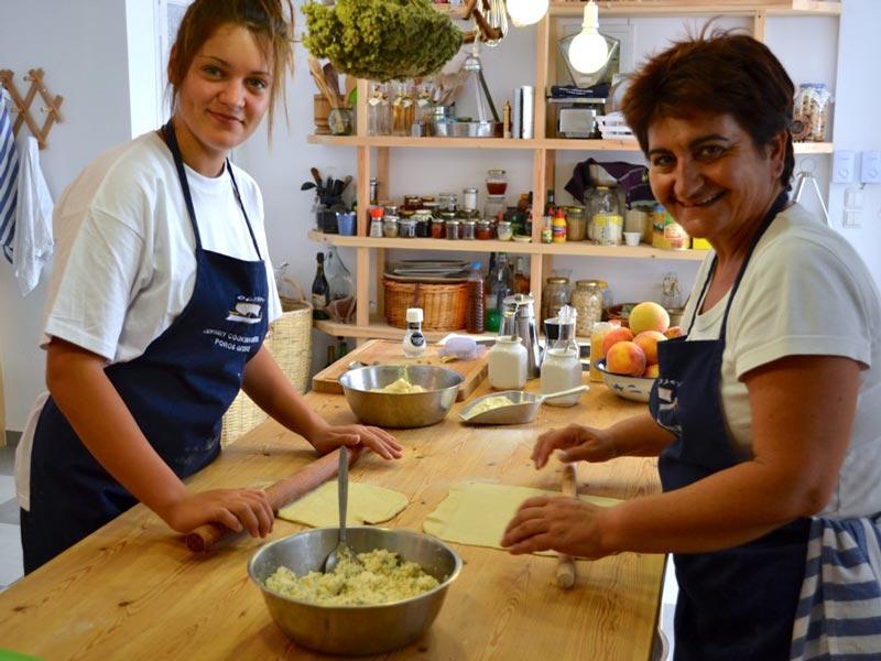 Poros Griechenland Kochkurs Kochworkshop Ausflug