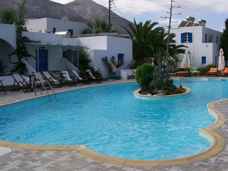 Griechenland Amorgos Rundreise Hotel Pool
