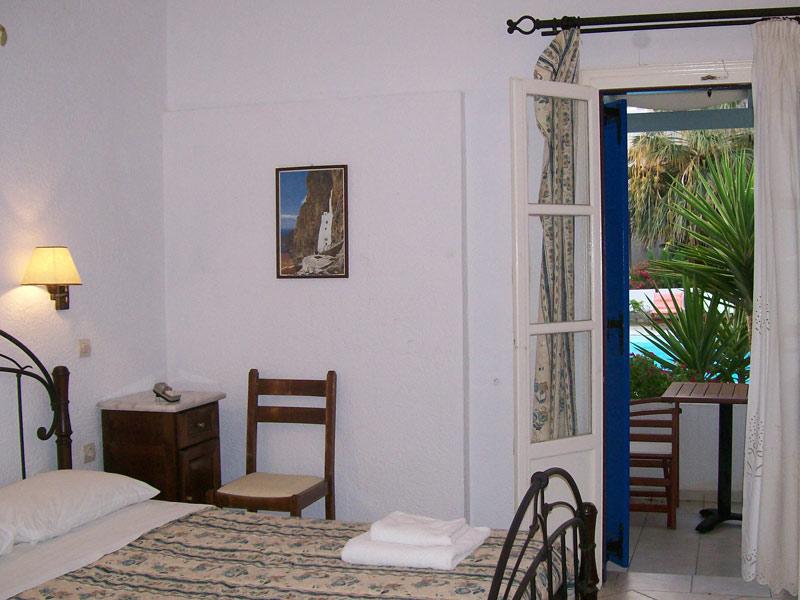 Amorgos Griechenland Urlaub Kykladen Hotelzimmer
