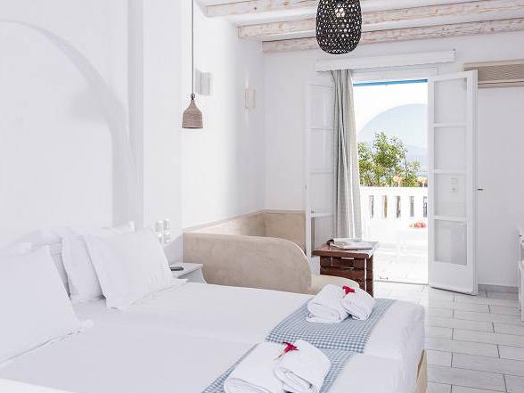 Kykladen Naxos Griechenland Unterkunft Hotelzimmer