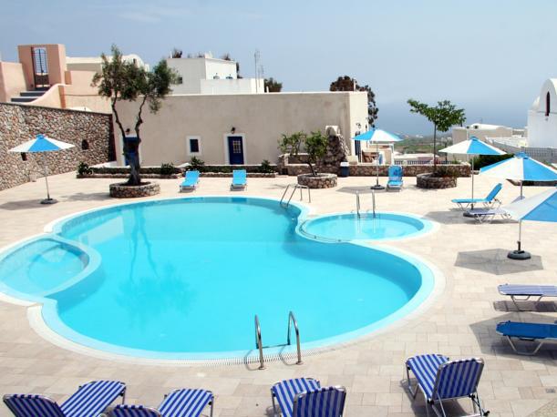 Santorini Reise Griechenland Hotel Kykladen