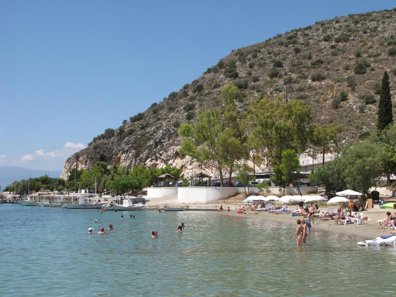 Der Strand von Tolo