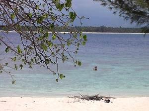 Strand auf Gili Meno