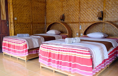 Schlichtes Zimmer in Bira.