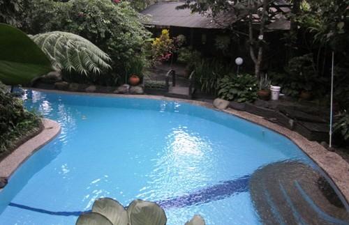 Hotelpool in Bogor.