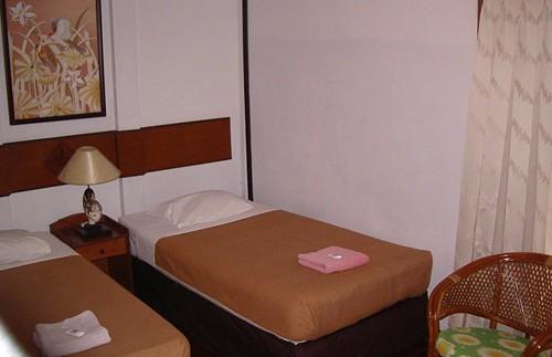 Hotelzimmer in Bogor.