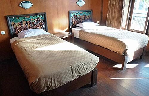 Hotelzimmer am Bromo.