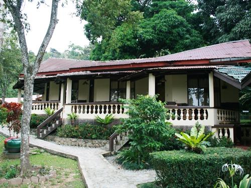 Schlichte Unterkunft in Bukit Lawang.
