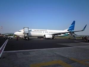 Flugzeug der Airline Garuda Indonesia
