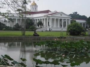 See im Botanischen Garten in Bogor.
