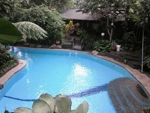 Swimmingpool am Hotel in Bogor