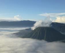 Brummelnder Bromo Vulkan