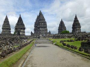 Der hinduistische Prambanan-Tempel - Inselhuepfen Indonesien