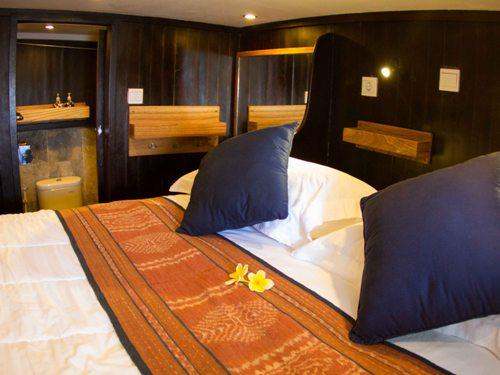 Komfortable Kabine während Ihrer Reise.