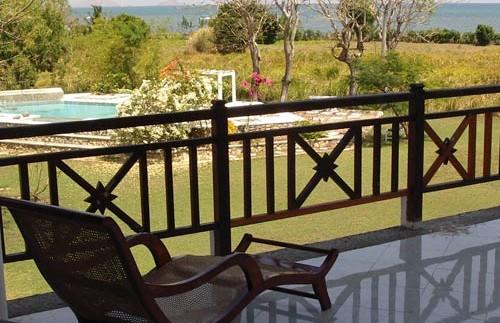 Entspannung auf der Terrasse in Labuhan Bajo.