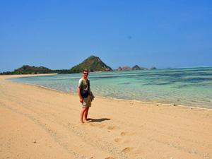 Strand auf Lombok - sekotong