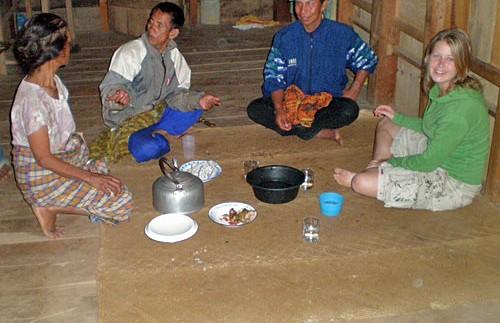Kontakt mit der Kultur der Tana Toraja