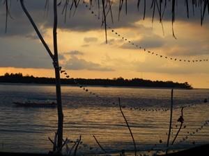 Sonnenuntergang über Gili Trawangan