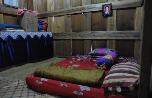 Einfache, aber gemütliche Unterkunft bei den Toraja