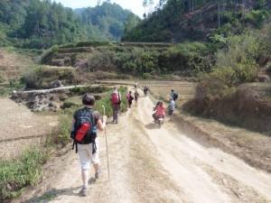 Trekking durch das Land der Tana Toraja