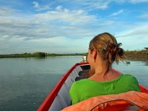 Bootstour zu den schwimmenden Häusern.