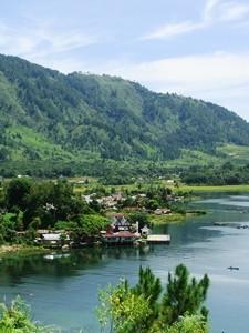Tobasee bei Samosir auf Sumatra