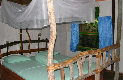 Zimmer in der Lodge in Tangkahan.