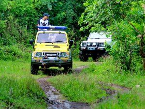 Jeeptour in das Hinterland von Candidasa auf Bali - Highlights von Java und Bali