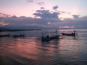 Sonnenuntergang über Lovina