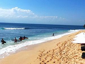 Strand in Balangan auf der Halbinsel Bukit