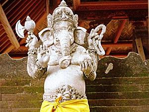 Ganesha Statue in Sidemen
