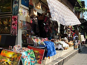 Ein kleiner Shop in Ubud